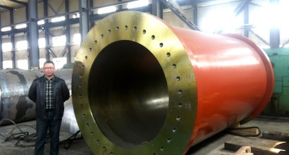 Custom made 66000 ton hydraulic press cylinder