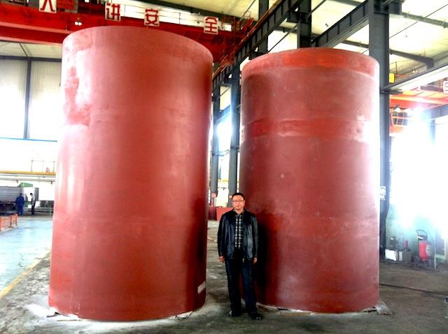 Prestress steel wire wound hydraulic cylinder