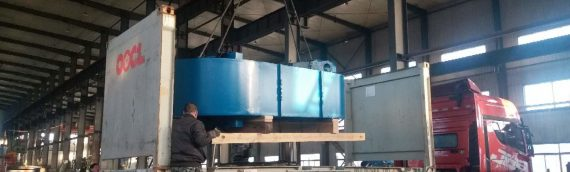 4000 ton Hydraulic Press for Heat Exchanger plates exported to Russia