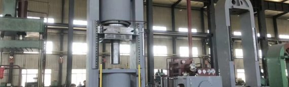 4000 ton Titanium Sponge Compacting Hydraulic Press is accepted by our Russia customer
