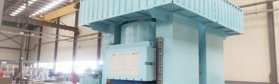 40000 ton hydraulic press for heat exchanger plates stamping manufacturing