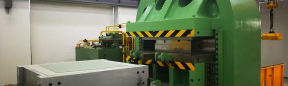 6000 Ton PTFE Compression Molding Press Machine delivered