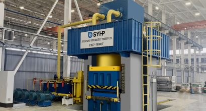 30,000 Ton Hydraulic Press Installed in Europe
