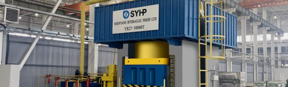 SYHP 30000 ton Hydraulic Press is installed in Europe